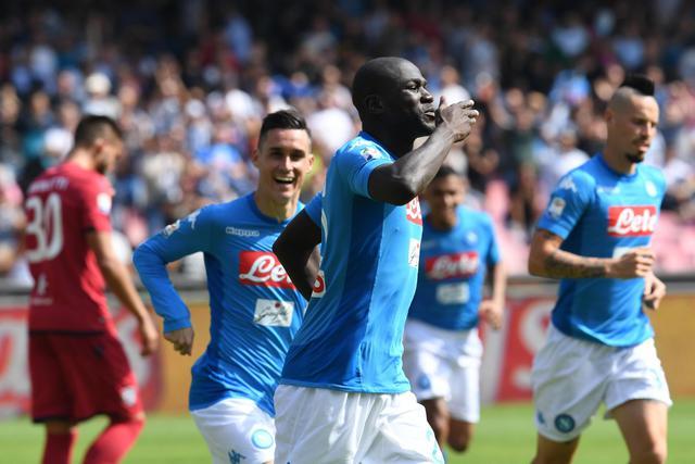 Soccer: Serie A; Napoli-Cagliari